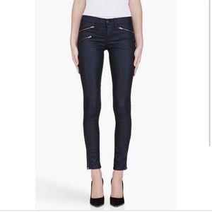 Rag & Bone Kensington Zipper Detail Skinny Jeans